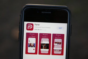 Parler has been removed from app stores and its website was temporarily down, but it's planning a comeback.