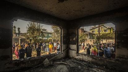 Fighting erupts in Kashmir as 'land grab' law kicks in