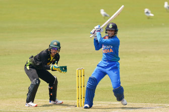 India's Smriti Mandhana is one of the best batters in the world.