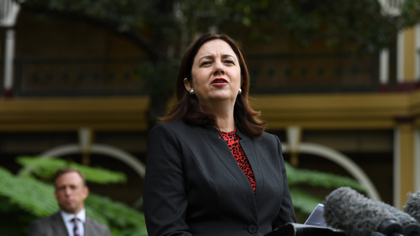 Queensland Premier Annastacia Palaszczuk has cleared the decks before the October state election.