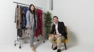 Glamcorner founders Dean Jones and Audrey Khang-Jones have seen an uptick in demand.