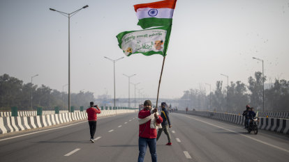 Violence over agriculture reforms overshadows India's Republic Day