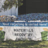 Hume recycling centre 'operational' as regional waste joins backlog