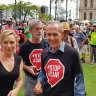 Bob Brown dismisses reports of cold shoulder in regional Queensland