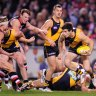 From the Archives, 2012: Riewoldt kicks eight, Tigers down Saints