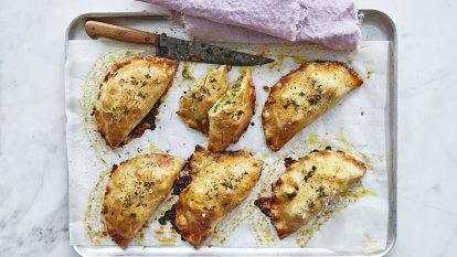 Helen Goh's broccoli and miso pasties