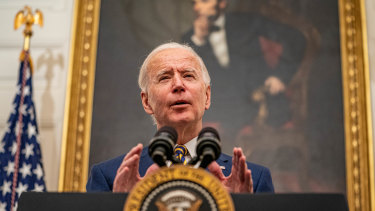 US President Joe Biden was sworn in at the age of 78.