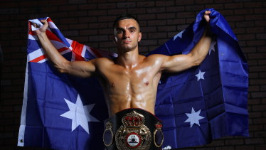 Andrew 'The Monster' Moloney is ready to defend his WBA title in Las Vegas.