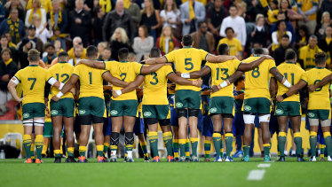 The Wallabies will take on the All Blacks at Optus Stadium on Satuday.