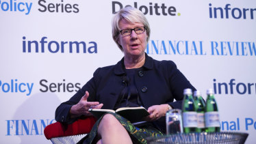 Murdoch University vice-chancellor Eeva Leinonen.