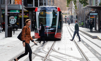 Patronage on NSW public transport dropped by 9 per cent in July.