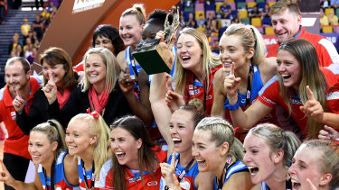 The Swifts could be relocated for the entire season in an effort to save the Super Netball season.