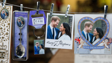 Harry and Meghan are getting married this month.