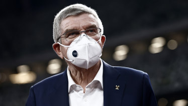 IOC president Thomas Bach has postponed a trip to Tokyo due to a surge in cases of COVID-19.