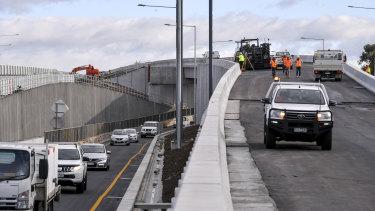 New lanes open on CityLink.