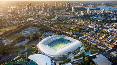 The budget for the Sydney Football Stadium has increased to $828 million.