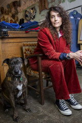 Tell and her dog Holly are the front line of vintage.