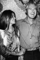 Timothy Leary, pictured with wife Rosemary, established Harvard University's psychedelic program with Dass.