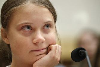 Youth climate change activist Greta Thunberg,
