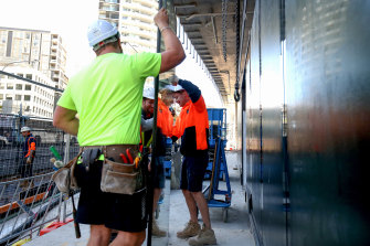 Hard hats and hi-vis are already worn in the construction industry.