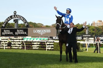 Saturday marks the one-year anniversary of Winx farewelling racing.