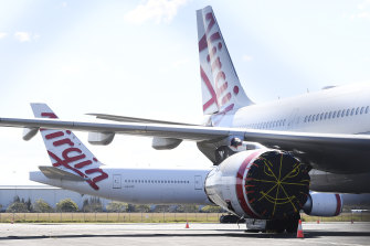 Five Virgin Australia flights have been affected by a positive COVID-19 case.