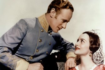 Leslie Howard and Olivia De Havilland in Gone With the Wind. A timeless romance or a racist fantasy?