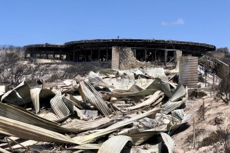 The Southern Ocean Lodge on Kangaroo Island was one of thousands of properties destroyed by this summer's bushfires.