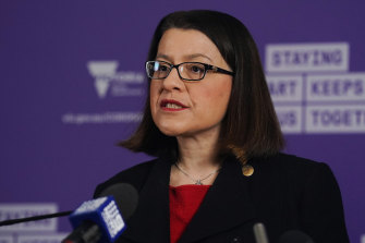 Health Minister Jenny Mikakos insists there is no threat to public health.