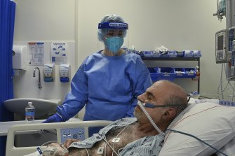 ICU beds are filling up with COVID patients.