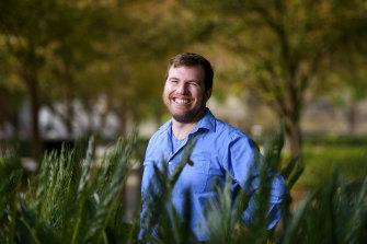 Australian Museum's new chief scientist Professor Kristofer Helgen.