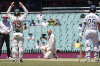 The SCG pitch was given the worst rating of the summer.