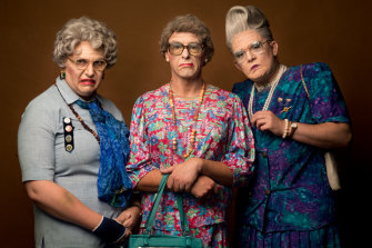 Granny Bingo's Thomas Jaspers, Scott Brennan and Kyle Minall.