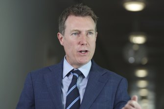 Attorney-General Christian Porter makes the pitch for the government's industrial overhaul.