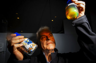 Len Humphreys, chief executive of Licella, and a co-inventor of a plastics to oil technology he says can make NSW and other regions 'plastic neutral'.