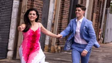 Sophie Salvesani and Todd Jacobsson as Tony in Opera Australia's touring   production of West Side Story.
