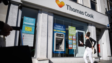 Hays Travel has bought all of Thomas Cook's 555 stores.