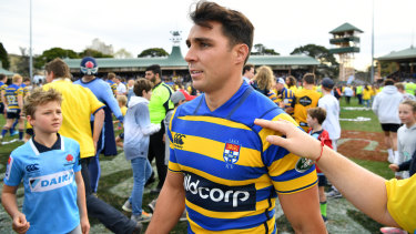 Nick Phipps was sent down to club rugby when the Wallabies had a break in their Test schedule.