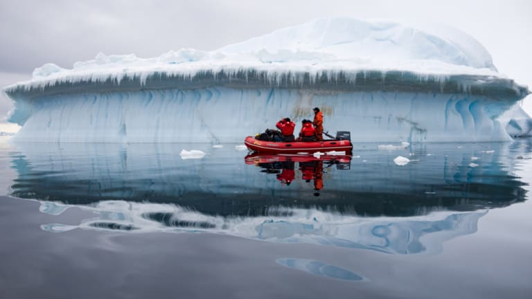 The Antarctica Experience is a virtual reality film using the latest technology in 3-D, 360-degree, high definition video, drones and a specially designed soundscape.