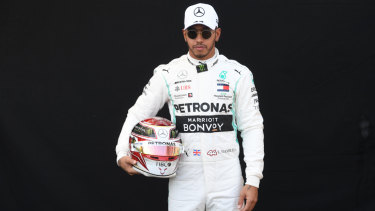Lewis Hamilton has strong memories of his first GP in Melbourne.