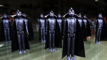 David Healey's Quackula figurines.
