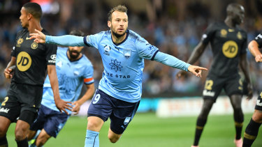 Cricket score: Sydney FC beat the Wanderers 2-0 at the SCG back in round 2.