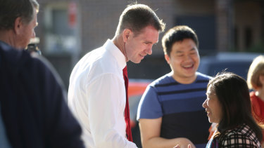Labor's Sam Crosby had been on the ground campaigning for more than a year.