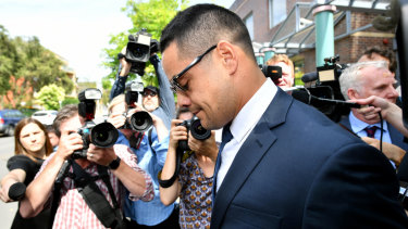 Day in court: The Jarryd Hayne case will turn attention again to the NRL summer of shame.