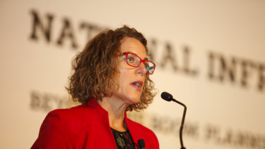 """Romilly Madew says the infrastructure boom """"is the new norm"""" and needs to increase."""