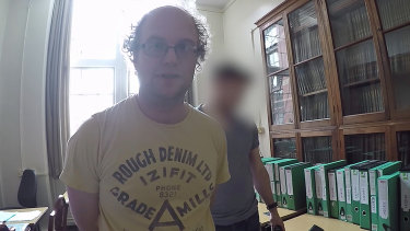 British paedophile Matthew Falder.