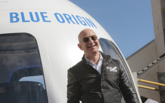 Giving up Amazon's day to day management will free Bezos for other passions including his space venture Blue Origin.
