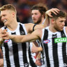 Magpies stake claim for top-four spot with thumping win
