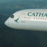 The captain became incapacitated on board a Cathay Pacific flight from Perth to Hong Kong.