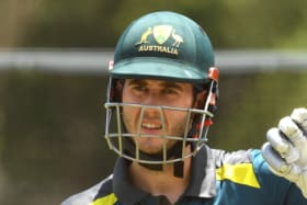 Gun of a son: Kurtis Patterson comes from good cricket stock.